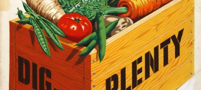 INF3/98 Food Production Dig for Plenty Artist Le Bon