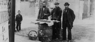 Image of Shrimp sellers