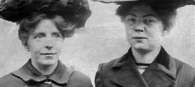 Image of Christabel Pankhurst and Annie Kenney
