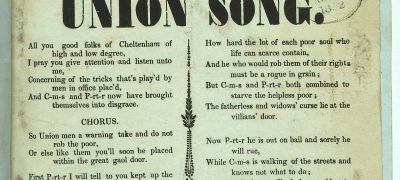Image of Union Song
