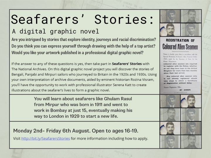 Seafarer's Stories Printable Flyer
