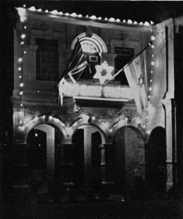 An image from The National Archives' Colonial Office collection of the Penang Synagogue in 1937, in what was then British-controlled Malaysia.