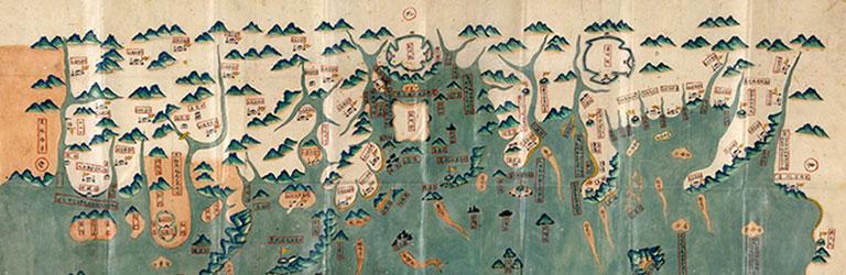 Military map of Chin-chou, China, 1850-1859