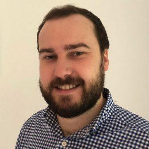 Colour photograph of Will Butler