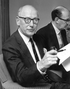 Lord Wolfenden in 1968.