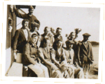 Photograph of German prisoners of war held on Ports Island. Bermuda 1918 Cat ref: CO 37/262/69.