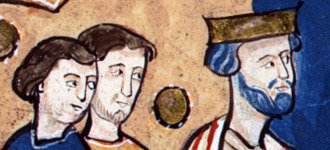 Edward the Confessor accuses Earl Godwin of the murder of his brother, Alfred Aetheling; E 36/284