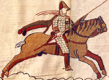 A Norman knight during the Battle of Hastings