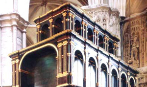 Edward Confessor's shrine in Westminster Abbey