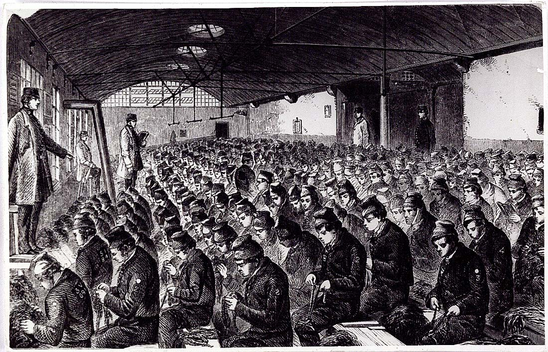 Prison Conditions in the Victorian Age