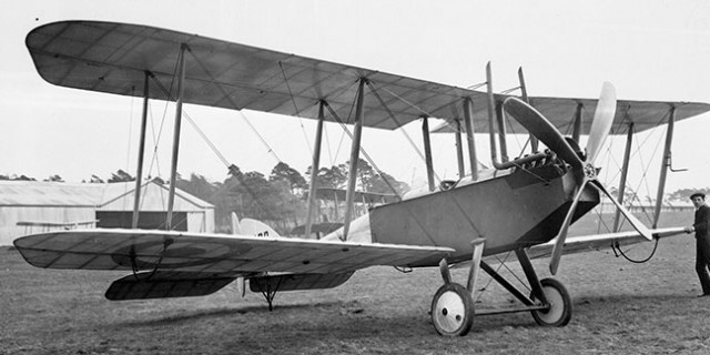 AIR 1/2411/303/4/20  BE2C aircraft in development at RAE WWI  1914-1918