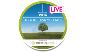 Who Do You Think You Are? Live 2014 logo