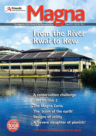 Cover of May 2015 issue of Magna