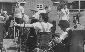 An archery contest, courtesy of the Centre for Buckinghamshire Studies