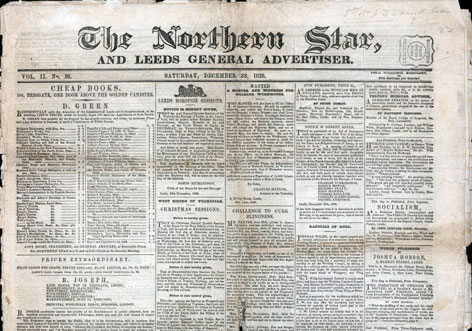 Human Rights 1815 1848 A Page From The Northern Star