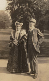 Sir Joseph Dalton Hooker and his wife Hyacinth