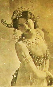 Mata Hari, spy and entertainer (file reference KV 2)