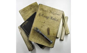 Manorial documents (Image copyright: Warwickshire County Record Office)