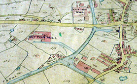 Tithe map of Droylsden near Manchester (catalogue reference: IR 30/18/106)