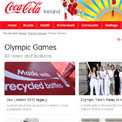 Coca Cola Ireland Olympic Games archive