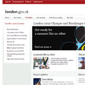 Greater London Authority 2012 website