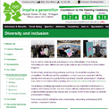 London 2012 – Diversity and inclusion website