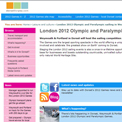 Weymouth and Portland 2012 website