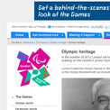 London 2012 Olympic heritage website