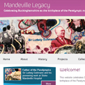 Mandeville Legacy website