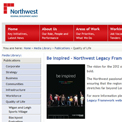 North West Regional Development Agency 2012 archived website