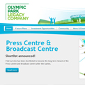 Olympic Park Legacy Company website
