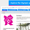 Scotland 2012 website