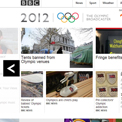 BBC London 2012 - archived website, British Library