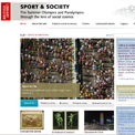 British Library Sport and Society website