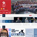 British Olympic Association Team GB website