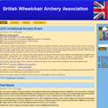 British Wheelchair Archery Association website