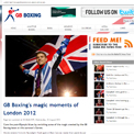 GB Boxing website