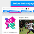 London Inspire - Sport archived website