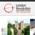 London Revolution cycling website