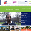 Parasport website
