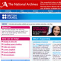 British Council archived website