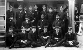 Officers of HMS Calliope 1890 (catalogue reference: COPY 1/400)