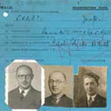 Aliens' registration cards 1918-1957
