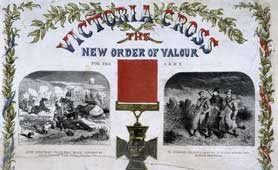 'Victoria Cross: The new order of Valour', from the Illustrated London News (catalogue reference: ZPER 34/30)