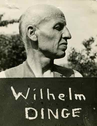 Cat ref: WO 309/1165. Major Wilhelm Dinge accused of murdering POW Sgt Cyril Webb in Germany 1947