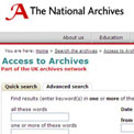Access to Archives