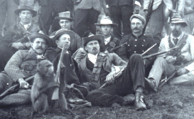 Photograph of Boer soldiers (Catalogue reference: COPY 1/457)