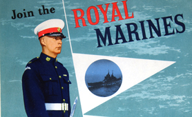 Royal Marines recruitment poster (Catalogue reference: INF 13/270/2)