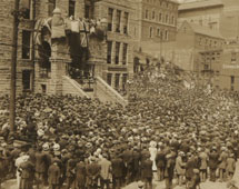 Mass meeting: St John's, Newfoundland, 4 August 1916
