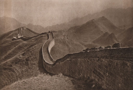 The Great Wall at Nankou, China, 1920. Catalogue reference: CO 1069/428